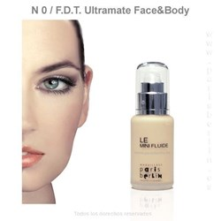 Paris Berlín - Fluide Face & Body  50 ml. Waterproof - Nº 0 - Base de maquillaje - Imagen 1