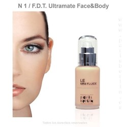 Paris Berlín -  Fluide Face& Body 50 ml. Waterproof - Nº 1 - Base de maquillaje - Imagen 1
