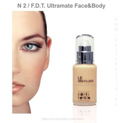 Paris Berlín -Fluide Face & Body 50 ml. Waterproof - Nº 2 - Base de maquillaje - Imagen 1