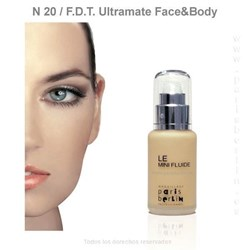 Paris Berlín -  Fluide Face & Body 50 ml. Waterproof - Nº 20 - Base de maquillaje - Imagen 1
