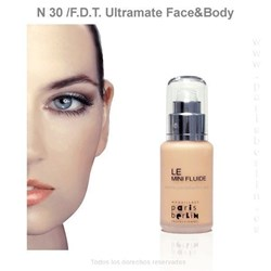 Paris Berlín -  Fluide Face & Body 50 ml. Waterproof - Nº 30 - Base de maquillaje - Imagen 1