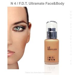 Paris Berlín - Fluide Face & Body 50 ml. Waterproof - Nº 4 - Base de maquillaje - Imagen 1